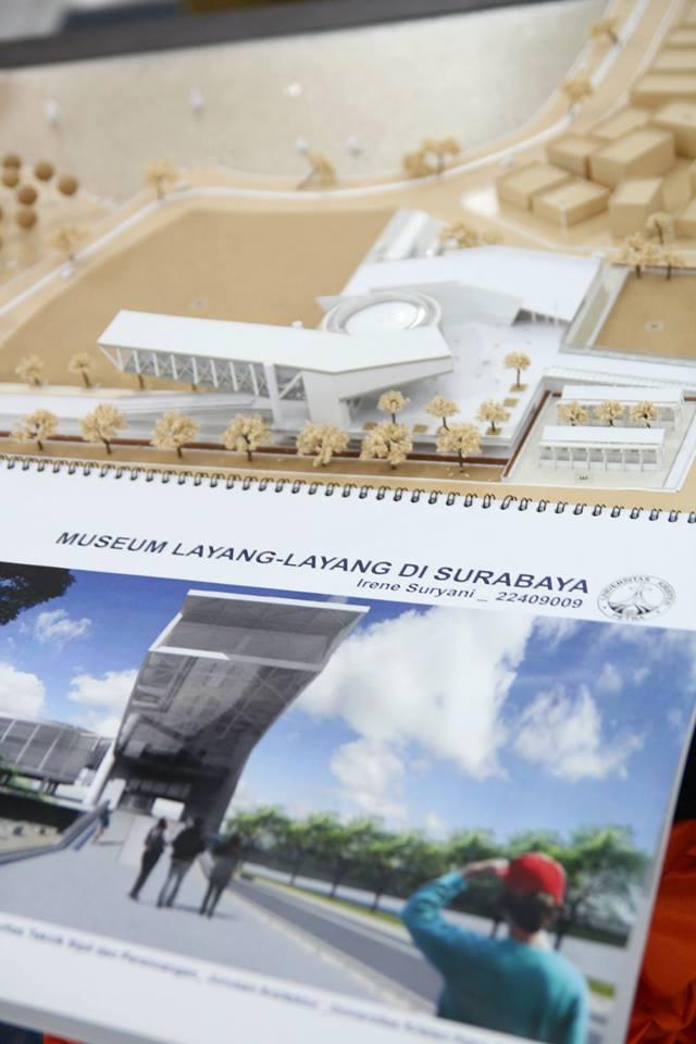 Pameran Karya Terbaik Tugas Akhir Arsitektur 2013 Genta Petra